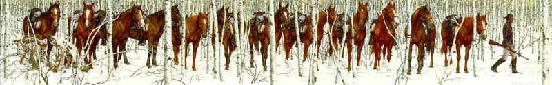 Two Indian Horses